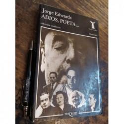 Adiós Poeta Jorge Edwards...