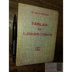 Tablas de logaritmos...
