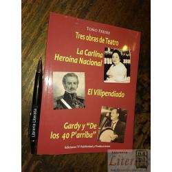 Tres obras de Teatro Toño...